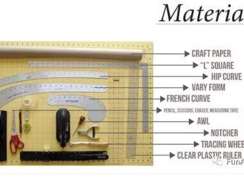 服装设计课材料