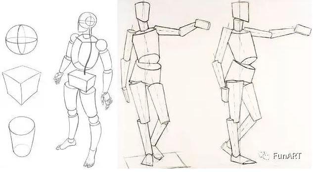 人体骨骼结构图脚骨_解密人体结构-打好动画基础 | LoveFunART 国际艺术教育